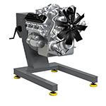 Стенд для сборки-разборки двигателей Р-1250 (КРОН)