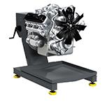 Стенд для сборки-разборки двигателей Р-500Е (КРОН)